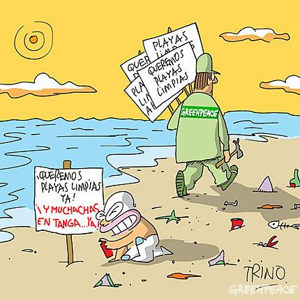 queremos playas limpias