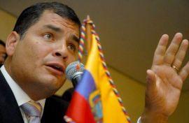 Rafael Correa Presindente del Ecuador